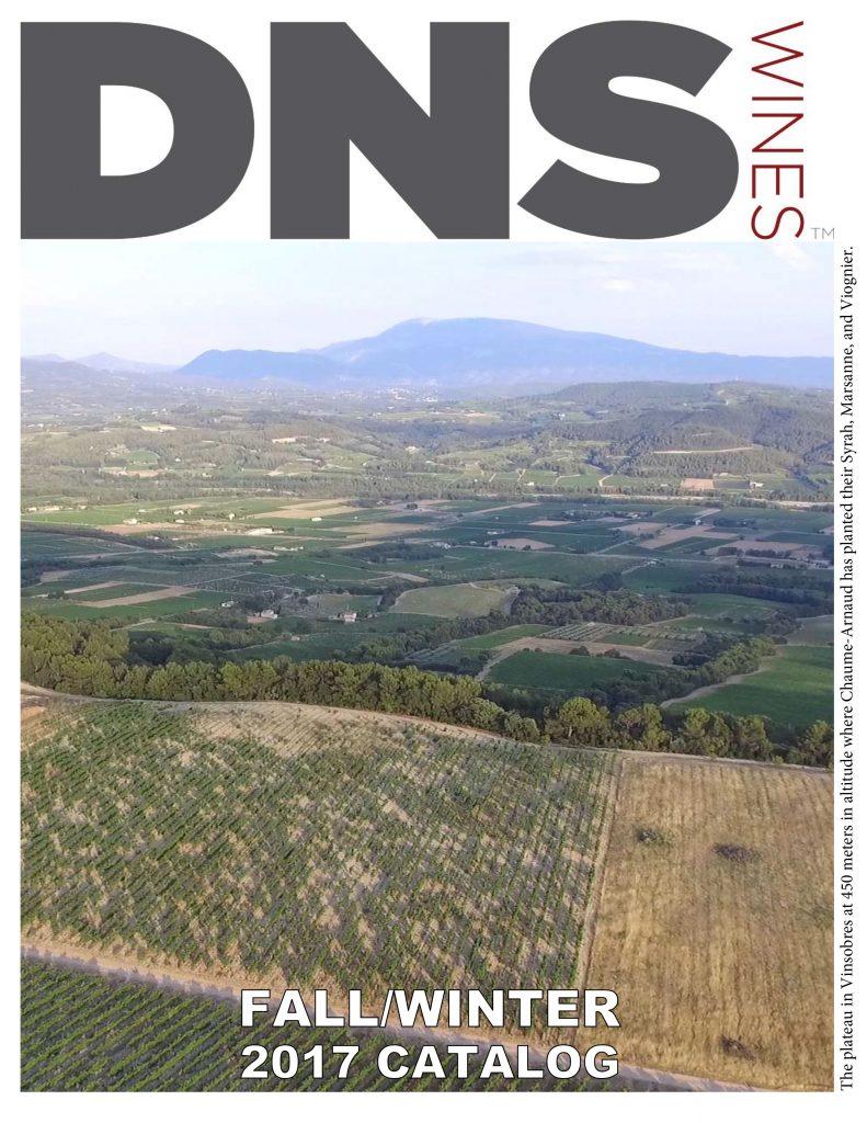 DNS Wines 3Q 2017 Catalog