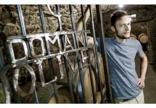 Winemaker Bastien Jolivet